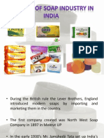 Soap Industry in India