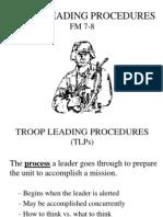 Intro to Troop Leading Procedures