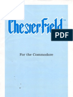 ChesterField Instruction Manual