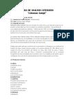 Ficha de Analisis Literario-ushanan Jampi