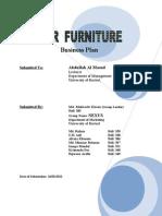 Business Plan of 'Vesper Furniture'