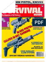 American Survival Guide Magazine January 1992 Volume 14 Number 1