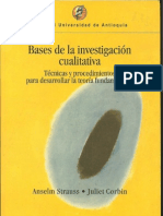 Bases de La Investigacion Cualitativa a Strauss A. J Corbin