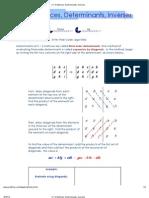 3+X+3+Matrices,+Determinants,+Inverses