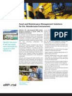 Asset and Maintenance Management Solutions for the  Wonderware Environment