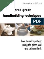 Hand Building Techniques