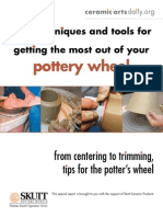 Getting the most out of your Potters Wheel