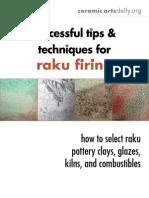 Raku Firing Techniques