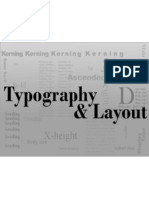 typography  layout