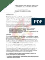 Respuesta Fisiologica Durante La Prueba de Esfuerzo en Los Bomberos de La Comunidad de Madrid