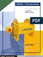 Lantec Lh Series Hoists Catalog