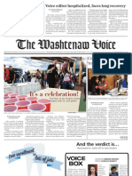 The Washtenaw Voice - September 10, 2012 Issue