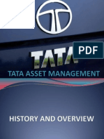Tata Asset Management(Ppt)