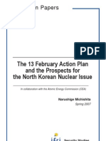 The 13 February Action Plan and the Prospects for the North Korean Nuclear Issue
