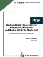 Strategic Stability Reconsidered