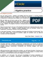 Pre Algebra Practice