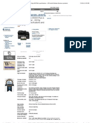hp officejet pro 8500a plus drivers for windows 10