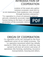 Introduction of Cooperation
