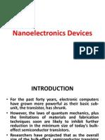 Nano Electronics