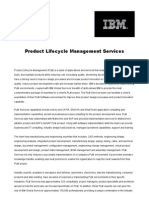 Product Lifecycle Management Services