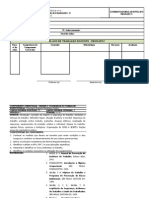 Plano de Trabalho Docente - Pronatec - Modelo