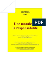 Morale Responsabilite