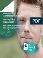 Lerarenopleiding Gezondheidszorg en Welzijn & Omgangskunde