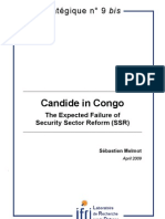 Candide in Congo. The Expected Failure of Security Reform System (SSR)