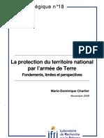 La protection du territoire national par l'armée de Terre. Fondements, limites et perspectives