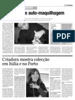 Micaela Larisch - Diário de Aveiro - 07/02/2009