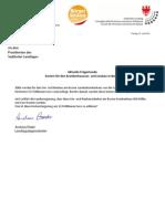 Krankenhausumbau Bozen Kostenexplosion Landtagsanfrage der BürgerUnion und Antwort