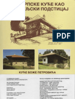 Stare Srpske Kuce Kao Graditeljski Podsticaj - Boza Petrovic, GK, 1997