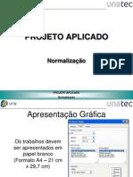 ABNT- Normas para Projeto Academico