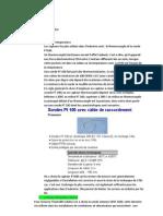 Choix du matériel PFE