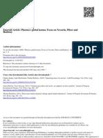 Pharma's Global
