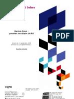 Les Français et la désignation de Harlem Désir à la tête du PS