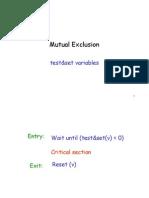 חישוב מבוזר- הרצאה 6 | Mutual Exclusion