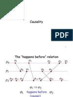 חישוב מבוזר- הרצאה 9 | Causality