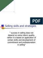 Selling Skills and Strategies