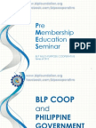 Online PMES - BLP and Philippine Government