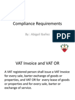 Taxation (Compliance Requirements)