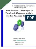 Aula 13 - Prática 02 - Exercícios para compreensão do Modelo Analítico de Laudon