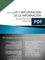 Acceso y Recuperacion de La Informacion