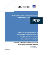 Development in the Shadow of Violence