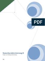 Nanocharakterisierung II Fragenkatalog