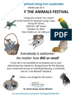 Pet Blessing Flyer2