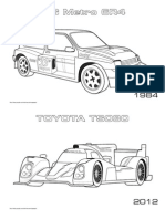 Motorsport Coloring Pages