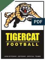 2006 Tigercat OFFENSE Coaching Manual