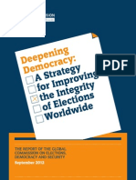 Deepening Democracy Final Report