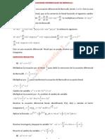 ecuaciones Diferenciales de Bernoulli